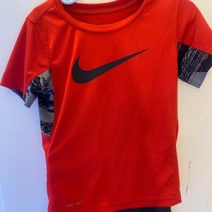 Nike shorts and shirt set for toddlers